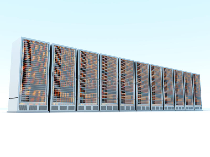 Download Server Center Royalty Free Stock Photo - Image: 34722305