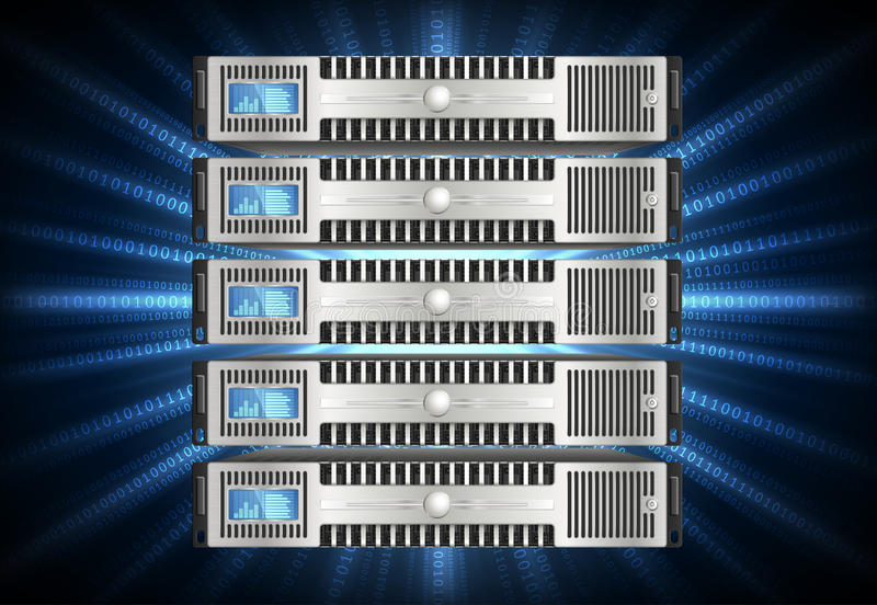 Download Server in cyberspace stock photo. Image of domain, hardware - 33343838