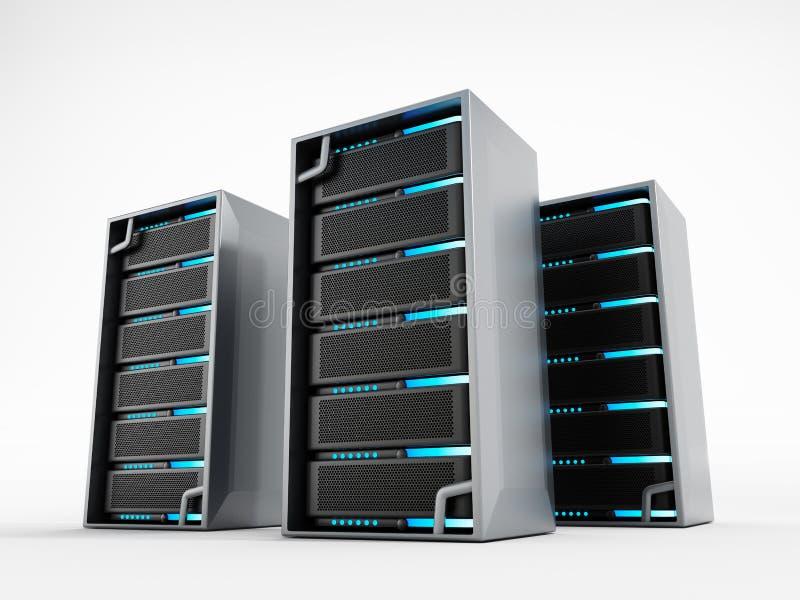 Server di rete illustrazione vettoriale