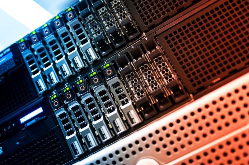 Server di rete fotografia stock libera da diritti