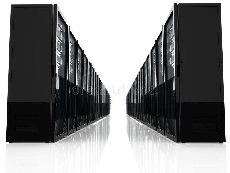 Server do computador ilustração stock