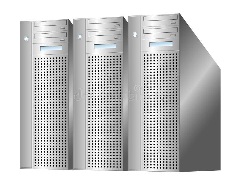 Download Server farm stock vector. Image of administrator, design - 4560273