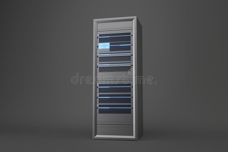 Server stock illustration