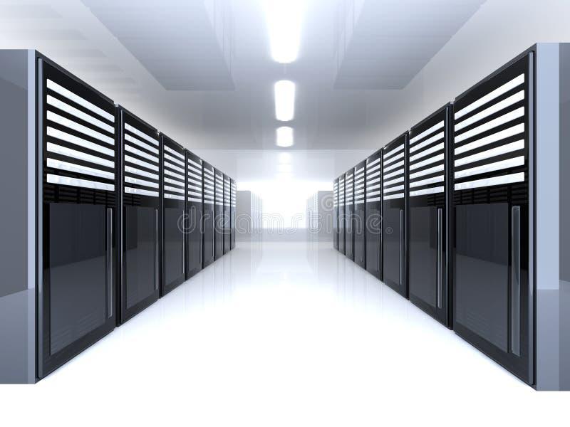 Server-Raum lizenzfreie abbildung