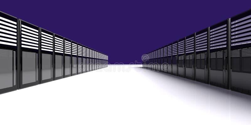 Download Server Room stock illustration. Image of information - 12489002