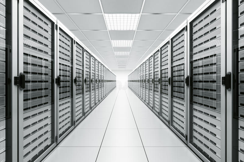 Download Server room stock illustration. Image of tower, generic - 14493227