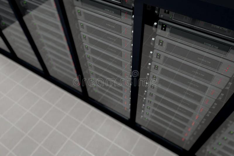 Server Room_3 fotografia de stock