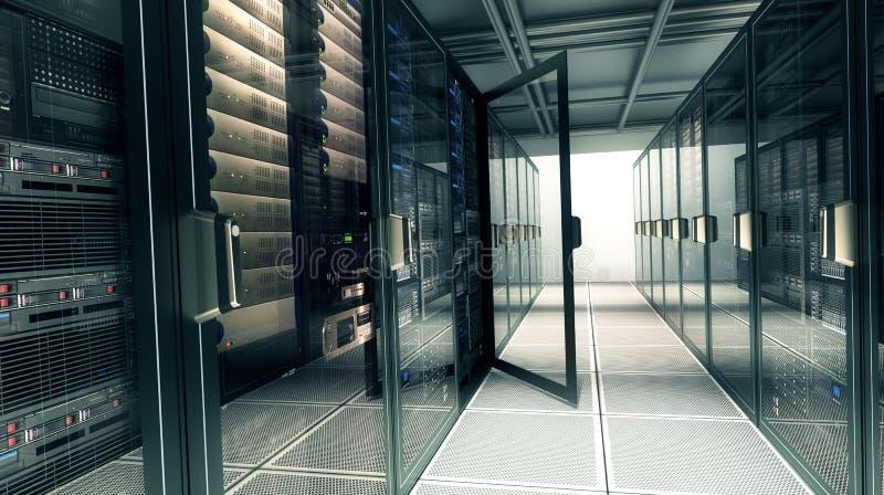 Cloud Computing Stock Illustration  Illustration Of