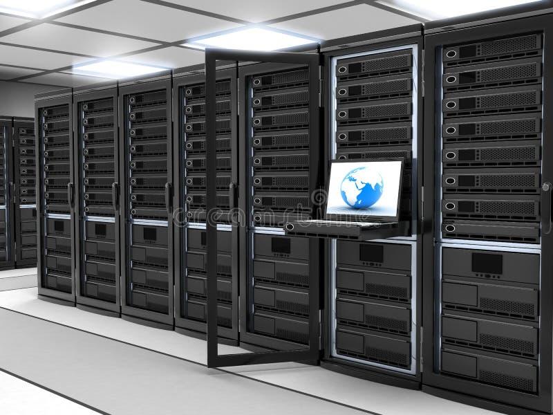 Server-ruimte zwarte