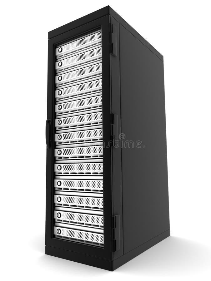 Server somente ilustração stock