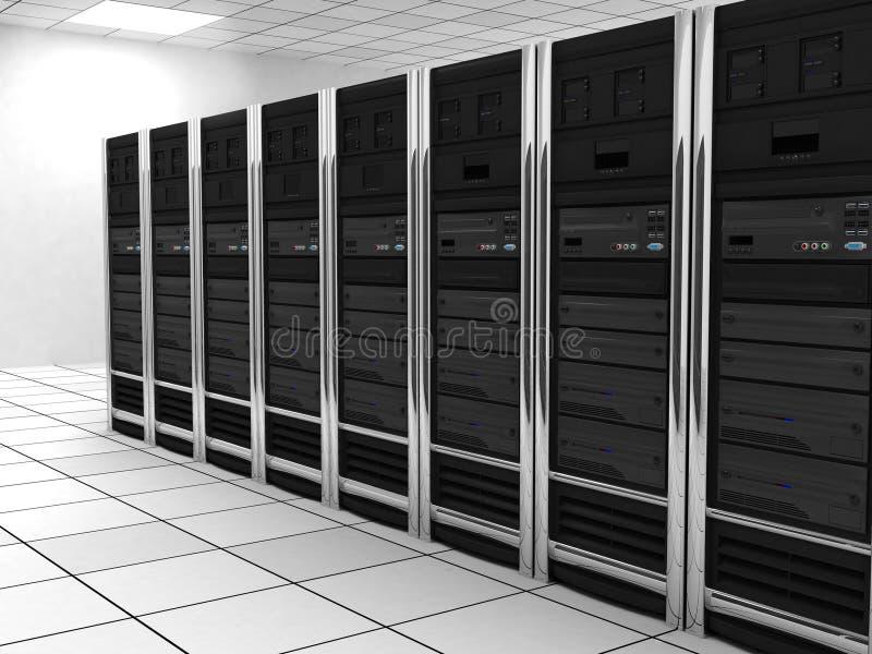 Server-stanza (generale) illustrazione di stock