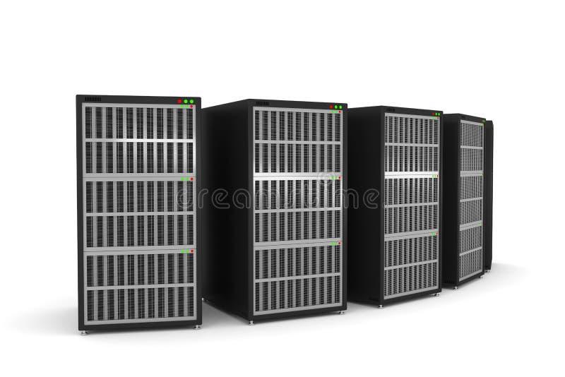 Servergestell vektor abbildung