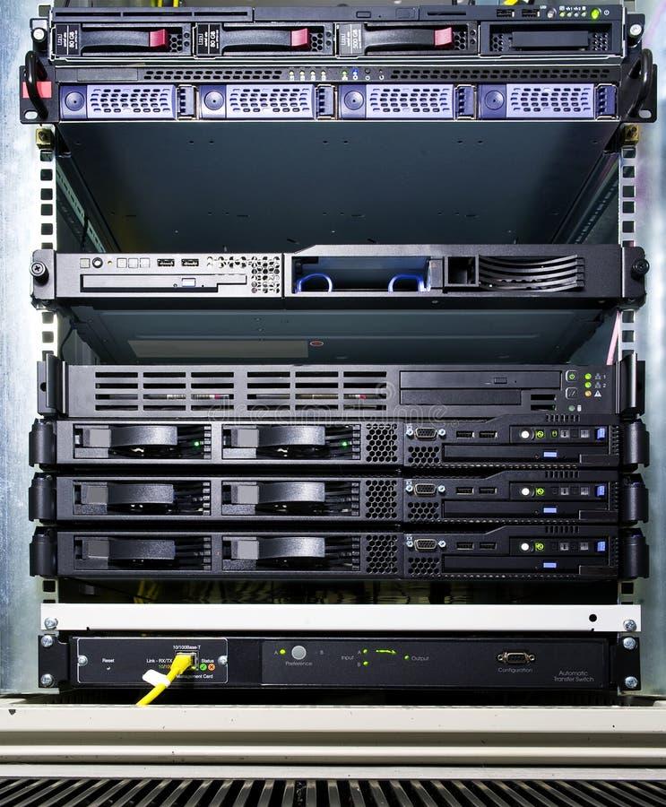Serverkonfiguration lizenzfreie stockfotografie