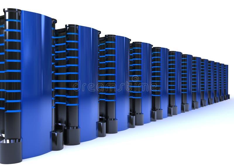 Servers lizenzfreie abbildung
