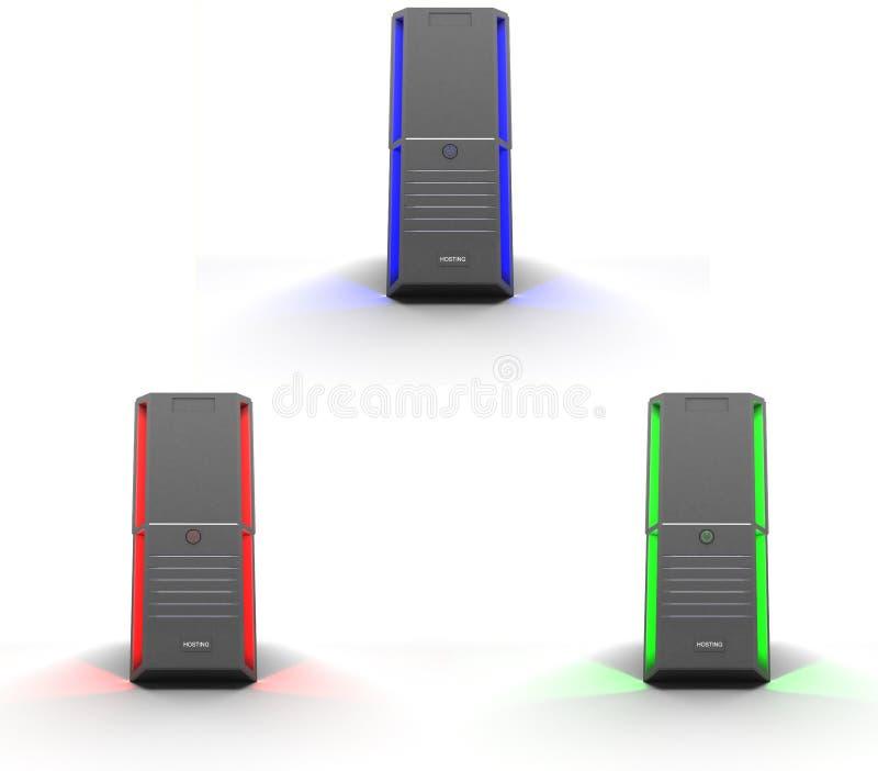 servers vector illustration