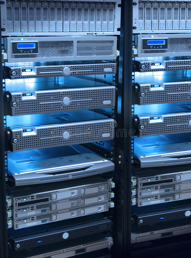 Servers lizenzfreies stockfoto