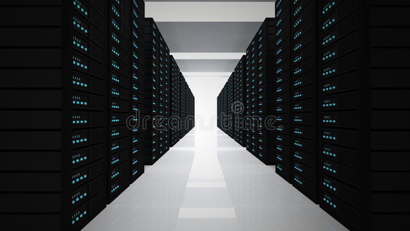 servers stock illustratie
