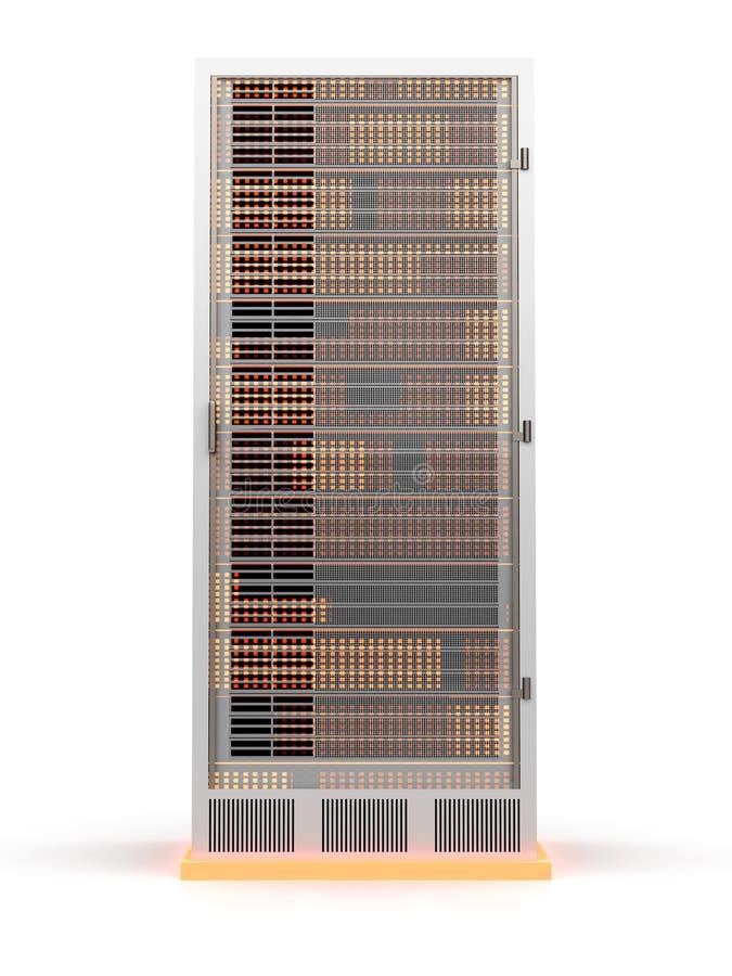 Servertorn vektor illustrationer