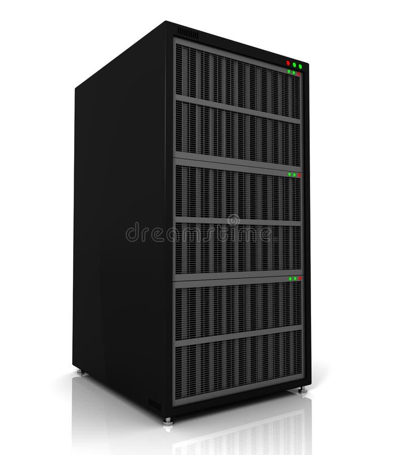 Serverzahnstange lizenzfreie abbildung