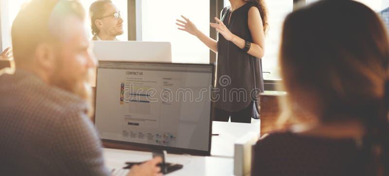 Serviço ao cliente Team Support Care Concept fotos de stock royalty free