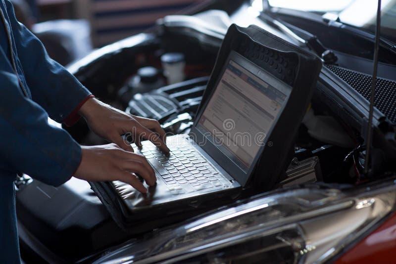 Serviço de reparação de automóveis foto de stock