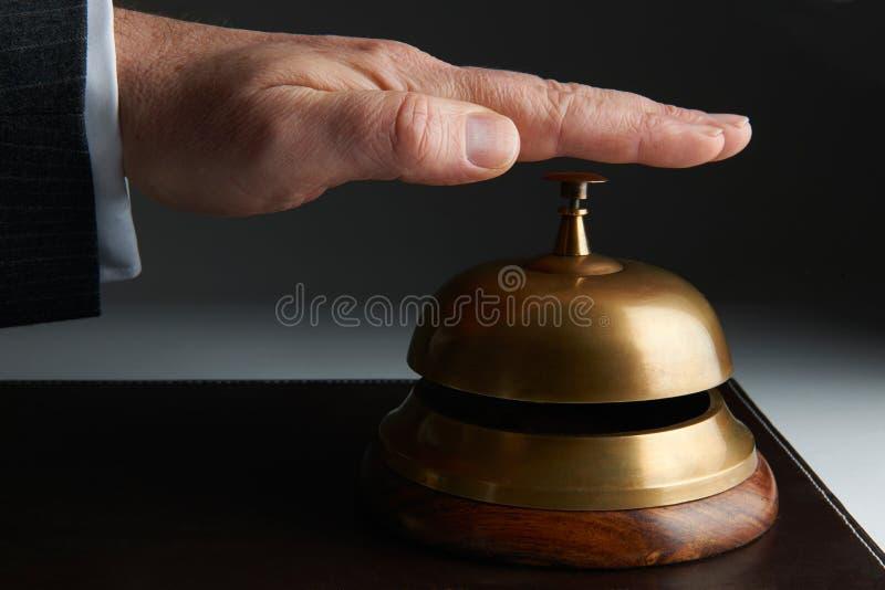 Serviço de soada Bell do negócio sobre fotografia de stock royalty free