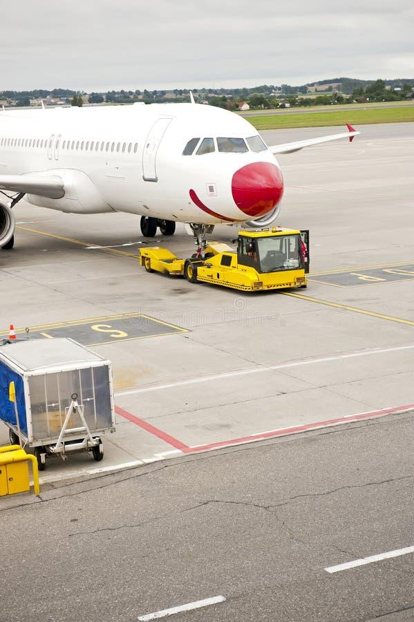 Serviço do aeroporto imagens de stock royalty free
