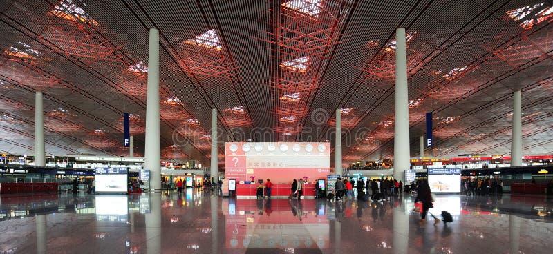 Serviço do aeroporto de Beijing fotografia de stock