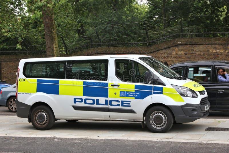 Serviço policial metropolitano fotografia de stock royalty free