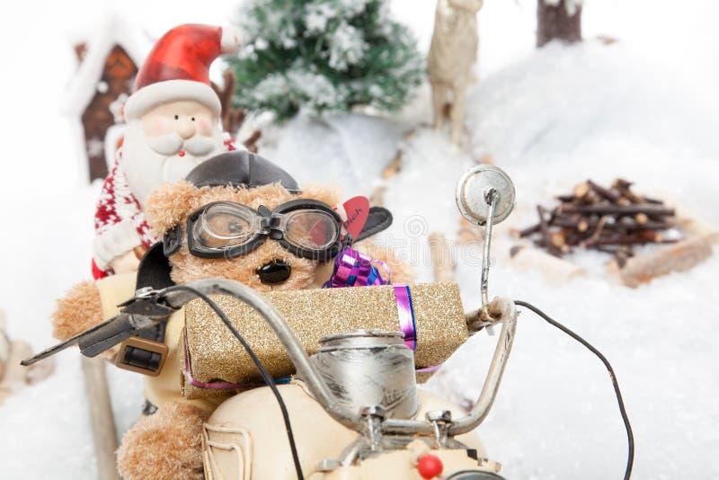 Serviço rápido do presente de Natal fotografia de stock