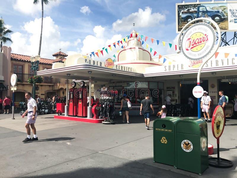 Serviço super do ` s de Oscar, estúdios de Hollywood, Orlando, FL imagens de stock