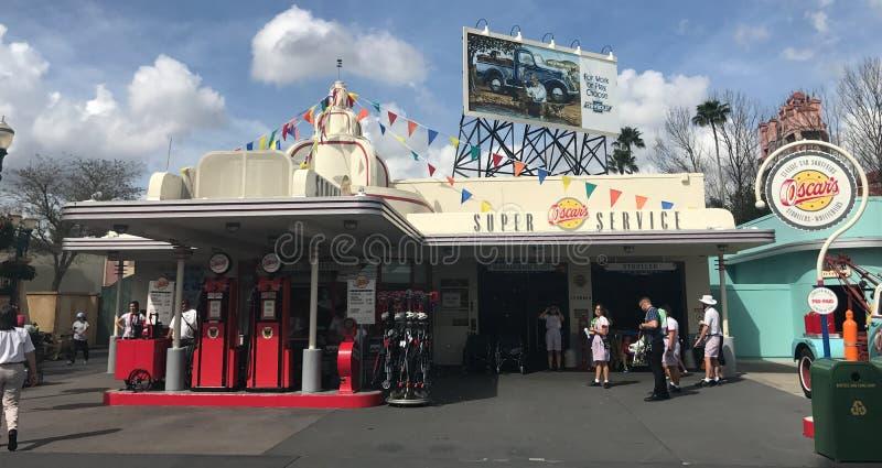 Serviço super do ` s de Oscar, estúdios de Hollywood, Orlando, FL imagem de stock royalty free