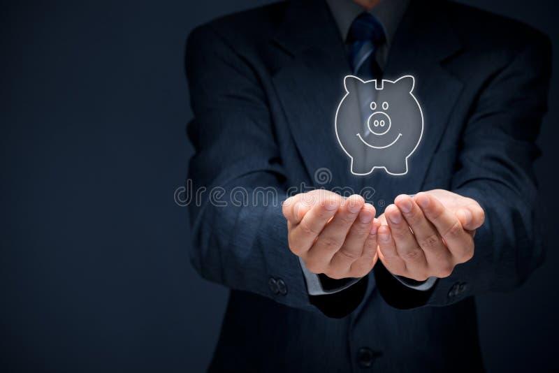 Serviços financeiros imagem de stock