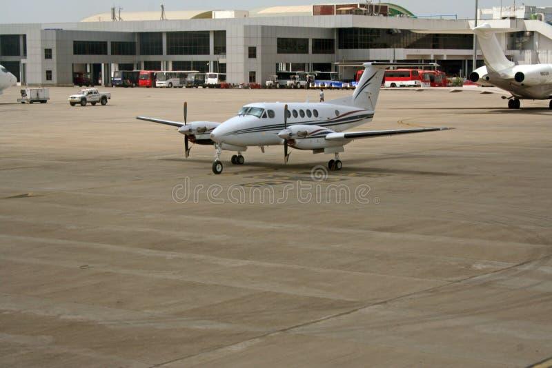 Serviços modernos do aeroporto e da infra-estrutura fotografia de stock royalty free