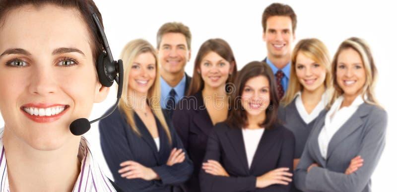 Service à la clientèle image libre de droits