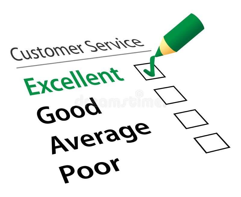 Service à la clientèle illustration de vecteur