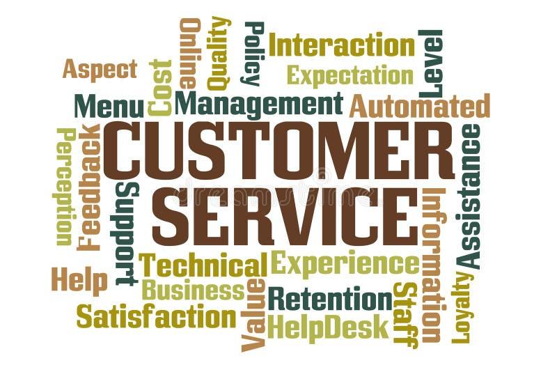Service à la clientèle illustration libre de droits