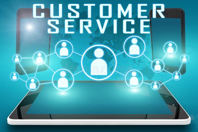 Service à la clientèle illustration stock