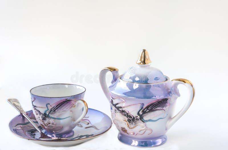 Service à thé de la Chine photo libre de droits