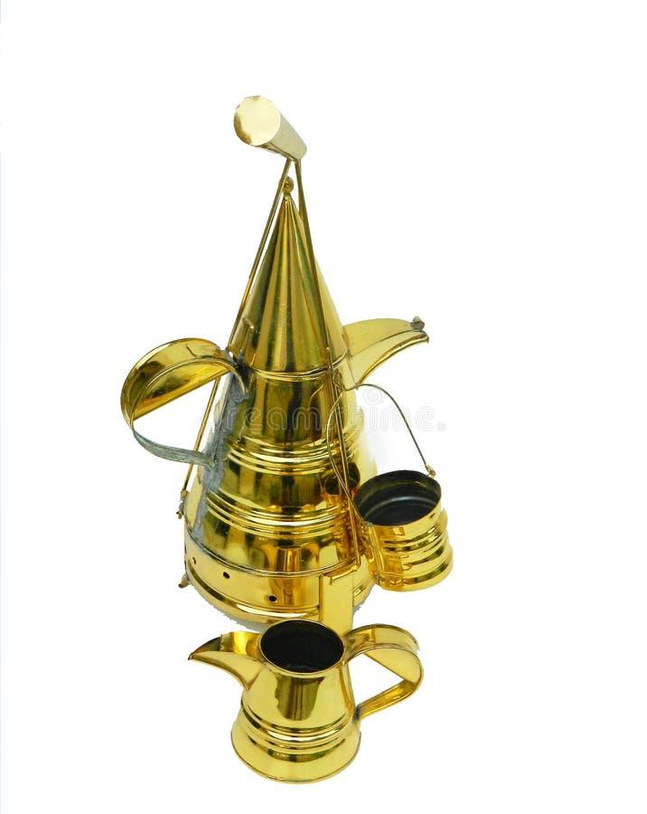 Service à thé oriental image stock