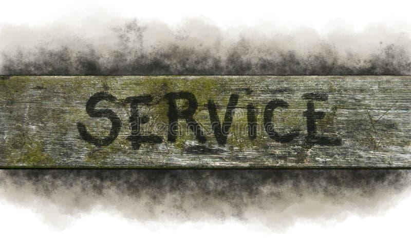 service stock fotografie