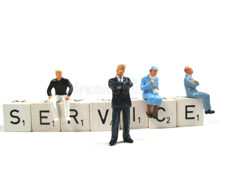 Service royalty free stock photography