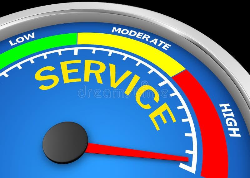 service vektor illustrationer