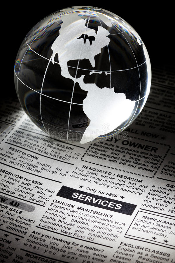 Service-Anzeige lizenzfreies stockbild