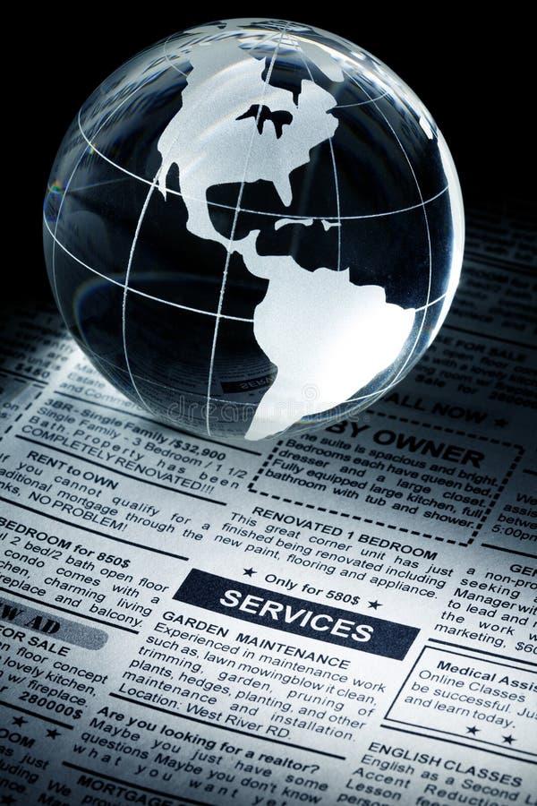 Service-Anzeige stockfoto