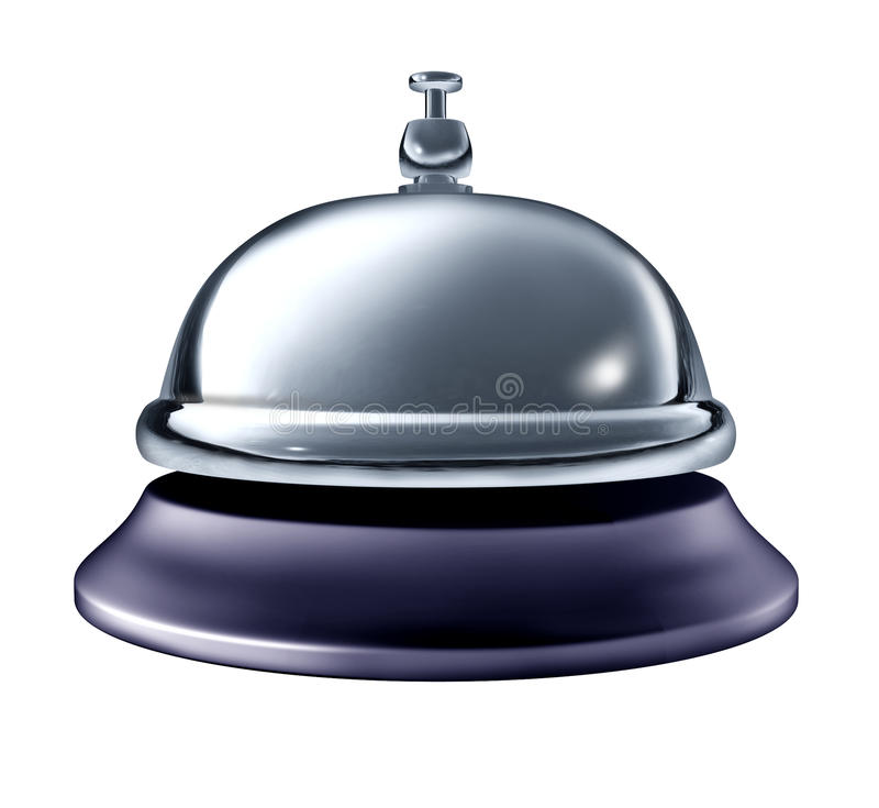 Service bell stock illustration