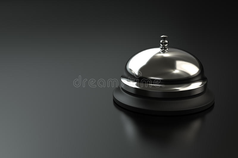 Service Bell Stock Image