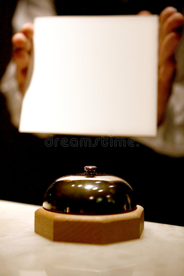 Download Service Bell Royalty Free Stock Image - Image: 3839386