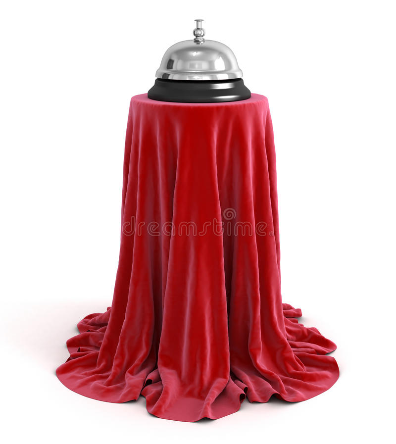 Download Service bell on Cloth stock illustration. Illustration of important - 34209227