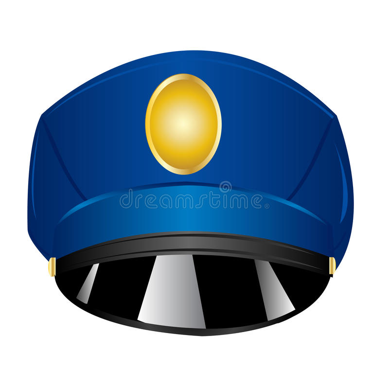 Download Service cap police stock vector. Image of order, cloth - 23045325